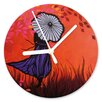 I-like-Paper Herbstfrau 13cm Analogue Wall Clock