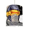 I-like-Paper 20 cm Lampenschirm Zyklop aus Tyvek