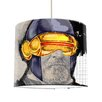 I-like-Paper 30 cm Lampenschirm Zyklop aus Tyvek
