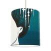 I-like-Paper 20 cm Lampenschirm Geisha aus Tyvek