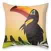 I-like-Paper Kissen Schnabelvogel