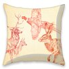 I-like-Paper Animals Cushion Cover