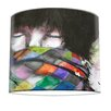 I-like-Paper 30 cm Lampenschirm Rainbow Warrior aus Tyvek