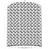 I-like-Paper 20 cm Lampenschirm Black Sparrow aus Tyvek