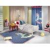 Saint Clair Paris Handgetufteter Designteppich Toy in Blau