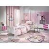 Saint Clair Paris Shaggy Hand-Tufted Pink Area Rug