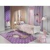 Saint Clair Paris Handgetufteter Designteppich Sleepy in Flieder