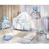 Saint Clair Paris Designteppich Patchwork in Blau