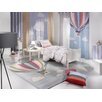 Saint Clair Paris Designteppich Balloons in Grau