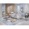 Saint Clair Paris Handgetufteter Designteppich Sleepy in Blau