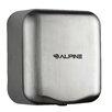 Alpine Industries Hemlock High Speed 220 Volt Hand Dryer in Stainless Steel