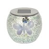 Majestique Laterne Solar Mosaic Butterfly 1-flammig