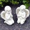 Majestique Praying Garden Angels Statue (Set of 2)