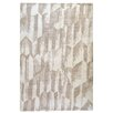 TheRugRepublic Mallory Hand-Loomed Ivory/Beige Area Rug