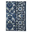 TheRugRepublic Ankara Hand-Tufted Blue/Ivory Area Rug