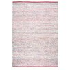 TheRugRepublic Traverse Hand-Loomed Red Area Rug