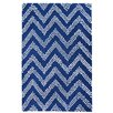 TheRugRepublic Comet Hand-Tufted Blue Area Rug