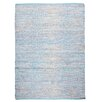 TheRugRepublic Traverse Hand-Loomed Blue Area Rug