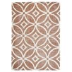 TheRugRepublic Waiko Hand-Tufted Taupe Area Rug