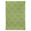 TheRugRepublic Savoy Hand-Loomed Lime Green Area Rug