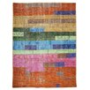 TheRugRepublic Walker Hand-Knotted Multi-Coloured Area Rug