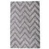 TheRugRepublic Comet Hand-Tufted Silver Area Rug