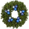 "Real Christmas Trees Delivered 24"" Fir Wreath"