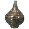 Sagebrook Home Grenade Bottle Vase