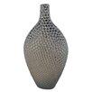 Sagebrook Home Charlie Pitted Bottle Vase