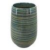 Sagebrook Home Kiara Striped Vase