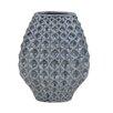 Sagebrook Home Ceramic Geo Vase