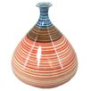 Sagebrook Home Kiara Striped Gourd Vase