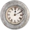 PTMD Collection Bond 20cm Iron Round Wall Clock
