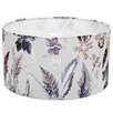 Gillian Arnold 45cm Winter Flourish Fabric Drum Lamp Shade