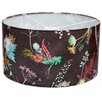 Gillian Arnold 45cm Edwardian Blooms Fabric Drum Pendant Shade