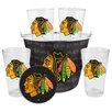 Boelter Brands NHL Chicago Blackhawks 9 Piece Gift Bucket Set