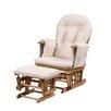 KUBProductsLTD Haywood Reclining Nursing Chair and Footstool