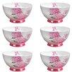 Portobello by Inspire Footed 500 ml Ami Fine Bone China Bowl (Set of 6)