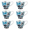 Portobello by Inspire Footed Maya Sandringham Fine Bone China Mug (Set of 6)