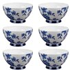 Portobello by Inspire Footed 500 ml Perla Fine Bone China Bowl (Set of 6)