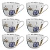 Portobello by Inspire Wilmslow Vintage Signs Bone China Mug (Set of 6)