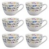 Portobello by Inspire Wilmslow No Place Like Home Bone China Mug (Set of 6)
