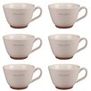 Portobello by Inspire Stafford I Love Coffee Stoneware Mug (Set of 6)