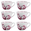 Portobello by Inspire Wilmslow Pretty Bone China Mug (Set of 6)