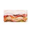 "Andrew Lee Leinwandbild ""Countryside Wheat Field Paint"" von Andrew Lee, Grafikdruck"