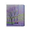 "Andrew Lee Leinwandbild ""London Lonley Tree"" von Andrew Lee, Grafikdruck"