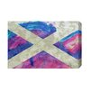 Andrew Lee Maps and Flags Scotland Flag by Andrew Lee Graphic Art Wrapped on Canvas