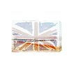 Andrew Lee Beach Union Jack by Andrew Lee Graphic Art Wrapped on Canvas