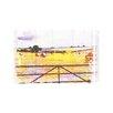 "Andrew Lee Leinwandbild ""Countryside Hay Bale"" von Andrew Lee, Grafikdruck"