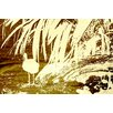 Andrew Lee Leinwandbild Gold Pretty Bird, Grafikdruck